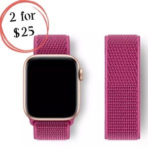 Dragon Fruit Sport Loop Band for Apple iWatch